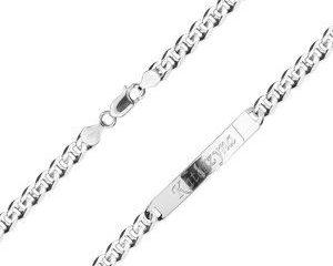 srebrna bransoletka męska - biżuteria